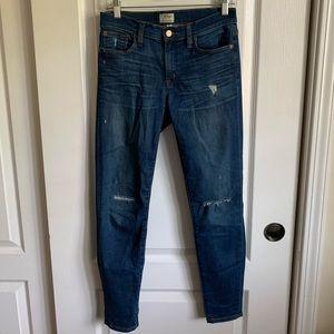 J.Crew trademark skinny jeans